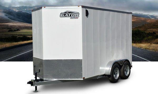 Remorque fermée - trailer fermé - Remorque ferme à vendre
